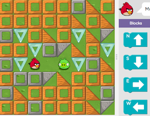 Solve puzzles and learn to code