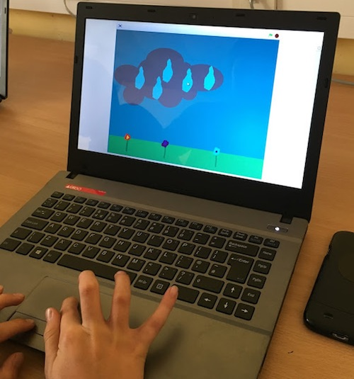 Game control with Scratch