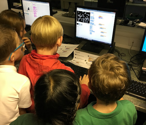 Show and Tell at Coding Club