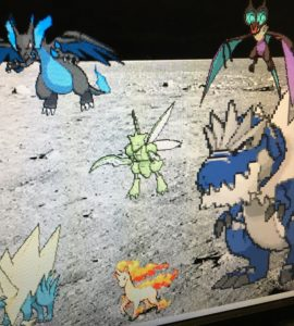Scratch pokemon dance