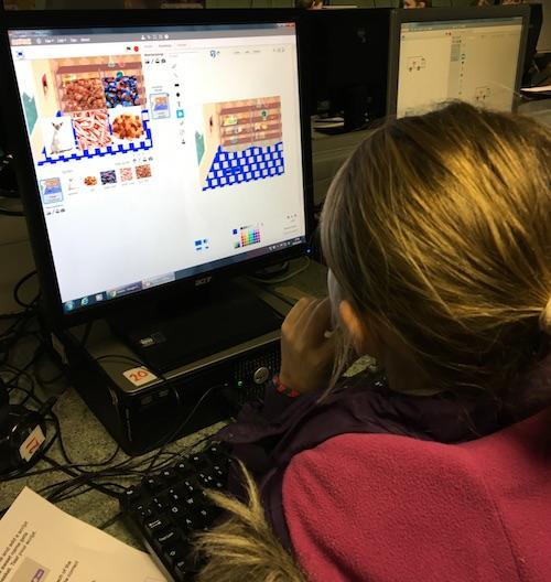 Girl coder