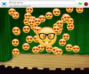 Emoji project in Scratch