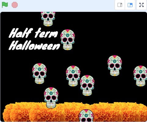 Scratch Half Term Halloween