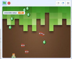 Make game in Scratch