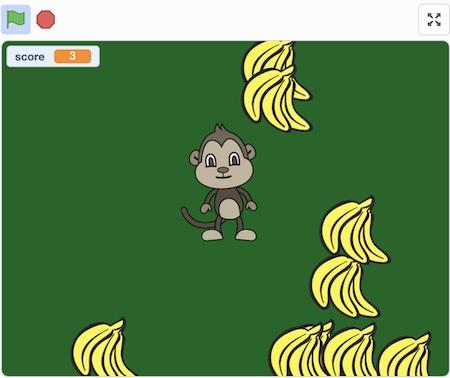 Scratch monkey project