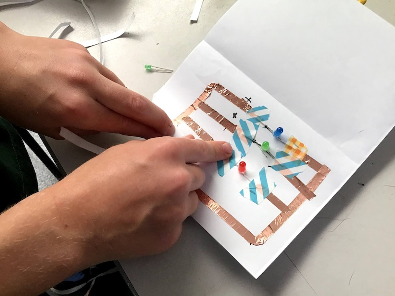 Paper circuits workshop