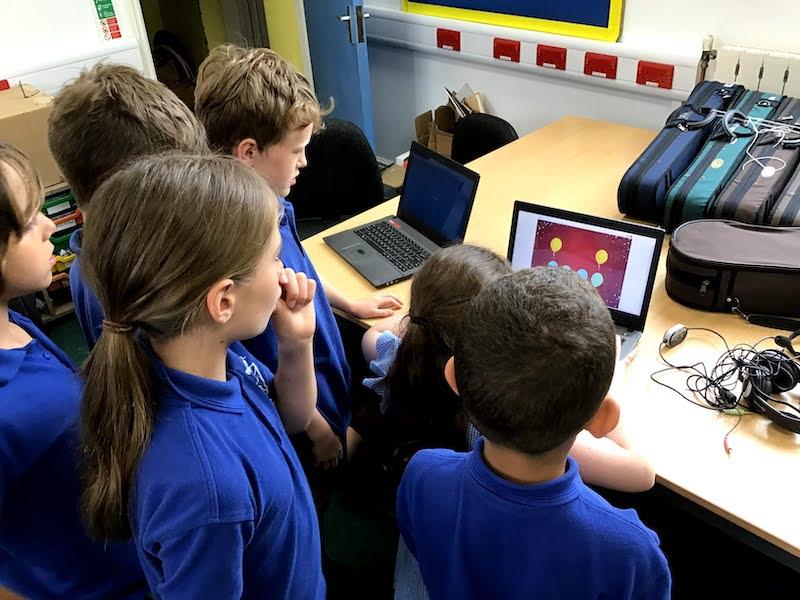 Beginners Scratch for primary school children