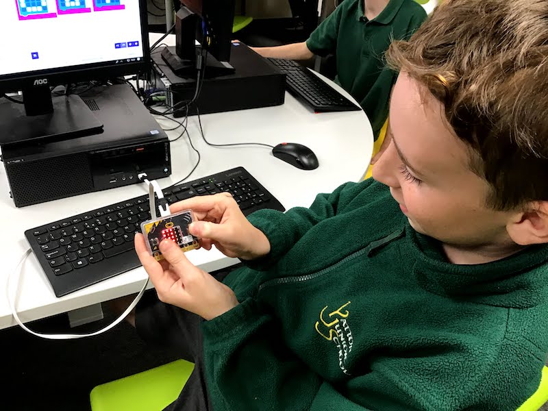 Coding with the micro:bit