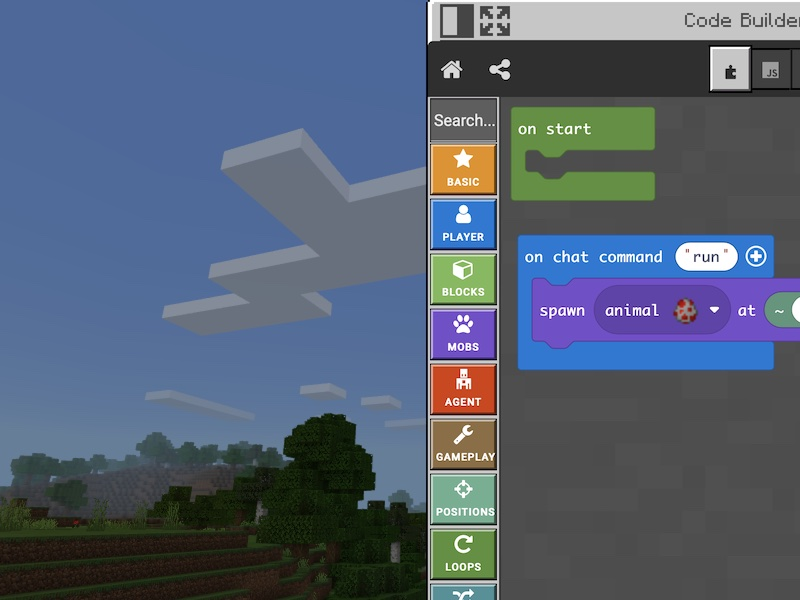 Learn to code, Minecraft for primary school children