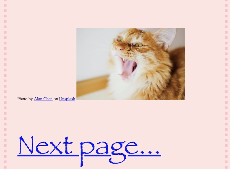 Website created by a 9 year old